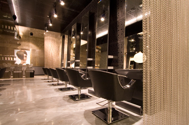 Luxe Interieur Design : Top finalist in salon design award chatswood chase salons