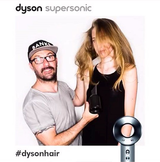 Dyson Supersonic Hair Dryer Launch