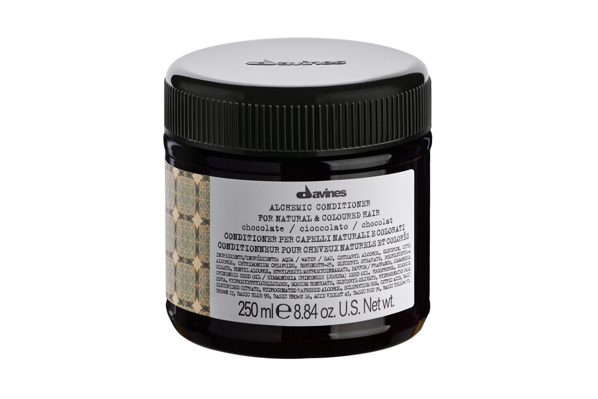 davines alchemic chocolate conditioner 250ml