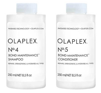 Olaplex Shampoo No. 4 & Olaplex Conditioner No. 5