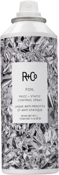 r + co foil frizz and static control spray
