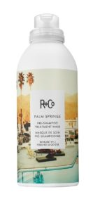r + co palm springs pre shampoo treatment mask
