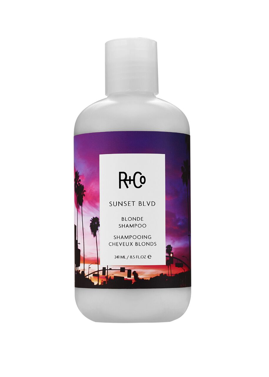 r + co sunset blvd blonde shampoo