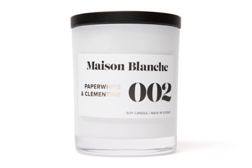 maison blanche paperwhite and clementine candle